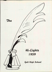 Page 7, 1959 Edition, Galt High School - Highlights Yearbook (Galt, CA) online yearbook collection