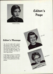 Page 9, 1959 Edition, Galt High School - Highlights Yearbook (Galt, CA) online yearbook collection