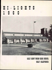 Page 7, 1960 Edition, Galt High School - Highlights Yearbook (Galt, CA) online yearbook collection
