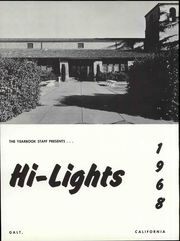 Page 5, 1968 Edition, Galt High School - Highlights Yearbook (Galt, CA) online yearbook collection