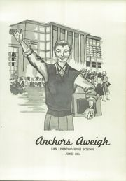 Page 5, 1954 Edition, San Leandro High School - Anchors Aweigh Yearbook (San Leandro, CA) online yearbook collection