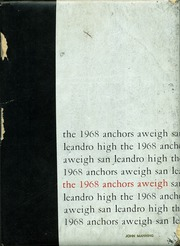 Page 1, 1968 Edition, San Leandro High School - Anchors Aweigh Yearbook (San Leandro, CA) online yearbook collection