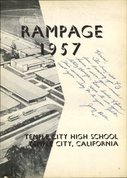 Page 7, 1957 Edition, Temple City High School - Templar Yearbook (Temple City, CA) online yearbook collection