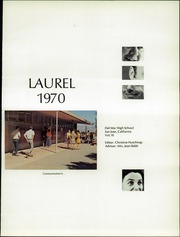 Page 5, 1970 Edition, Del Mar High School - Laurel Yearbook (San Jose, CA) online yearbook collection