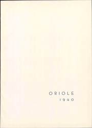 Page 7, 1940 Edition, Campbell High School - Oriole Yearbook (Campbell, CA) online yearbook collection