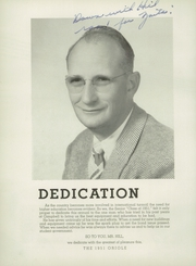 Page 8, 1951 Edition, Campbell High School - Oriole Yearbook (Campbell, CA) online yearbook collection