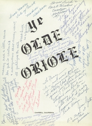 Page 5, 1957 Edition, Campbell High School - Oriole Yearbook (Campbell, CA) online yearbook collection
