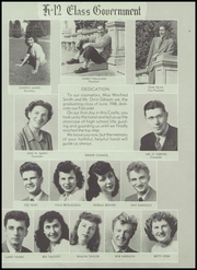 Page 9, 1948 Edition, Castlemont High School - Falcon Yearbook (Oakland, CA) online yearbook collection