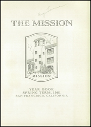 Page 5, 1931 Edition, Mission High School - Mission Yearbook (San Francisco, CA) online yearbook collection