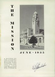 Page 5, 1935 Edition, Mission High School - Mission Yearbook (San Francisco, CA) online yearbook collection