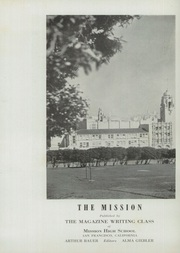 Page 6, 1942 Edition, Mission High School - Mission Yearbook (San Francisco, CA) online yearbook collection