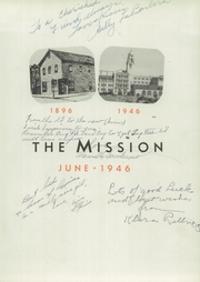 Page 5, 1946 Edition, Mission High School - Mission Yearbook (San Francisco, CA) online yearbook collection