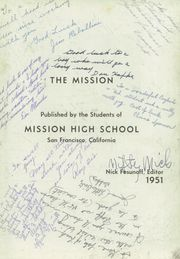 Page 7, 1951 Edition, Mission High School - Mission Yearbook (San Francisco, CA) online yearbook collection