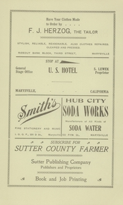 Page 9, 1910 Edition, Sutter Union High School - Gold and White Yearbook (Sutter, CA) online yearbook collection