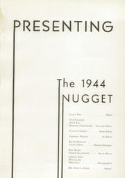 Page 5, 1944 Edition, McClatchy High School - Nugget Yearbook (Sacramento, CA) online yearbook collection