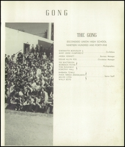 Page 11, 1945 Edition, Escondido High School - Gong Yearbook (Escondido, CA) online yearbook collection