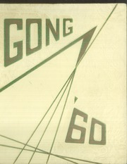 1960 Edition, Escondido High School - Gong Yearbook (Escondido, CA)