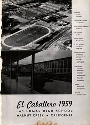 Page 3, 1959 Edition, Las Lomas High School - El Caballero Yearbook (Walnut Creek, CA) online yearbook collection