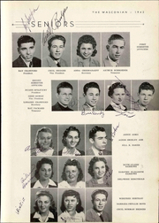 Page 17, 1942 Edition, Wasco Union High School - Wasconian Yearbook (Wasco, CA) online yearbook collection