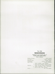 Page 12, 1958 Edition, Wasco Union High School - Wasconian Yearbook (Wasco, CA) online yearbook collection