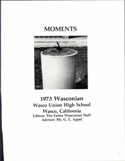 Page 5, 1973 Edition, Wasco Union High School - Wasconian Yearbook (Wasco, CA) online yearbook collection