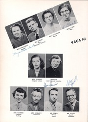 Page 14, 1955 Edition, Vacaville Union High School - Ulatis Yearbook (Vacaville, CA) online yearbook collection