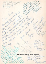 Page 5, 1955 Edition, Vacaville Union High School - Ulatis Yearbook (Vacaville, CA) online yearbook collection