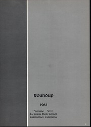Page 5, 1963 Edition, La Sierra High School - Roundup Yearbook (Carmichael, CA) online yearbook collection