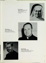 Page 11, 1960 Edition, Bishop O Dowd High School - Mitre Yearbook (Oakland, CA) online yearbook collection