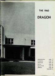 Page 5, 1960 Edition, Bishop O Dowd High School - Mitre Yearbook (Oakland, CA) online yearbook collection