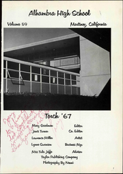 Page 5, 1967 Edition, Alhambra High School - Torch Yearbook (Martinez, CA) online yearbook collection