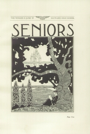 Page 13, 1925 Edition, Hayward High School - Agrarian Yearbook (Hayward, CA) online yearbook collection