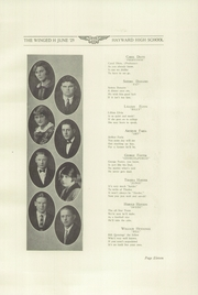 Page 15, 1925 Edition, Hayward High School - Agrarian Yearbook (Hayward, CA) online yearbook collection