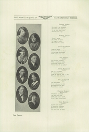 Page 16, 1925 Edition, Hayward High School - Agrarian Yearbook (Hayward, CA) online yearbook collection