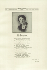 Page 7, 1925 Edition, Hayward High School - Agrarian Yearbook (Hayward, CA) online yearbook collection