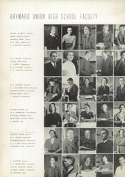 Page 10, 1940 Edition, Hayward High School - Agrarian Yearbook (Hayward, CA) online yearbook collection