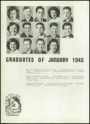 Page 14, 1945 Edition, Hayward High School - Agrarian Yearbook (Hayward, CA) online yearbook collection
