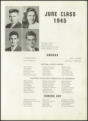 Page 15, 1945 Edition, Hayward High School - Agrarian Yearbook (Hayward, CA) online yearbook collection