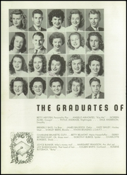 Page 16, 1945 Edition, Hayward High School - Agrarian Yearbook (Hayward, CA) online yearbook collection