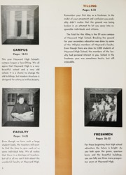 Page 8, 1955 Edition, Hayward High School - Agrarian Yearbook (Hayward, CA) online yearbook collection
