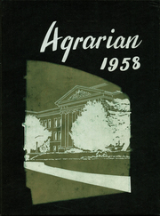Page 1, 1958 Edition, Hayward High School - Agrarian Yearbook (Hayward, CA) online yearbook collection