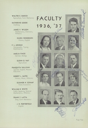 Page 9, 1937 Edition, Shafter High School - Laurion Yearbook (Shafter, CA) online yearbook collection