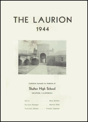 Page 5, 1944 Edition, Shafter High School - Laurion Yearbook (Shafter, CA) online yearbook collection