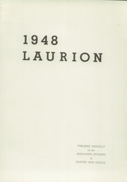 Page 5, 1948 Edition, Shafter High School - Laurion Yearbook (Shafter, CA) online yearbook collection
