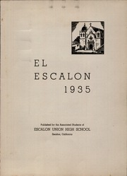 Page 5, 1935 Edition, Escalon Union High School - El Escalon Yearbook (Escalon, CA) online yearbook collection