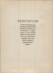 Page 8, 1935 Edition, Escalon Union High School - El Escalon Yearbook (Escalon, CA) online yearbook collection