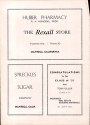 Page 108, 1951 Edition, Manteca Union High School - Tower Yearbook (Manteca, CA) online yearbook collection