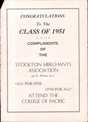 Page 110, 1951 Edition, Manteca Union High School - Tower Yearbook (Manteca, CA) online yearbook collection