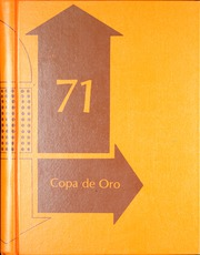 1971 Edition, Fillmore High School - Copa de Oro Yearbook (Fillmore, CA)