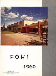 Page 5, 1960 Edition, Fontana High School - Fohi Yearbook (Fontana, CA) online yearbook collection